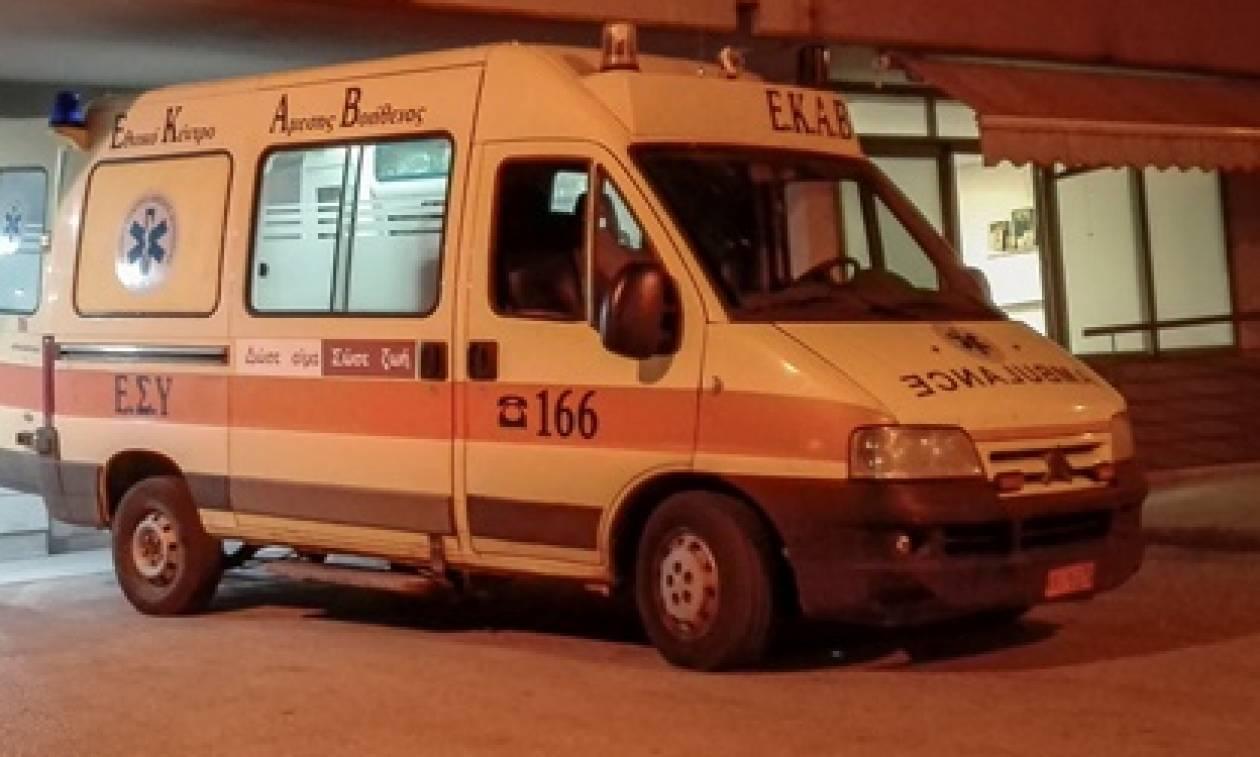 Σοκ στο Ηράκλειο: «Έπεσε» νεκρός μπροστά στα μάτια της γυναίκας του