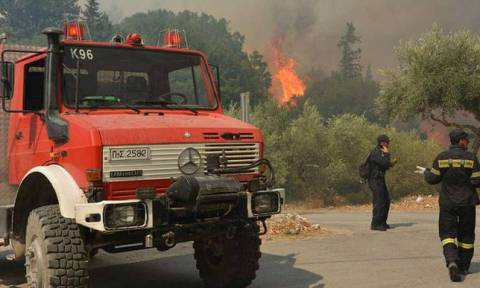 High alert for fires on Thursday issued by Interior Ministry