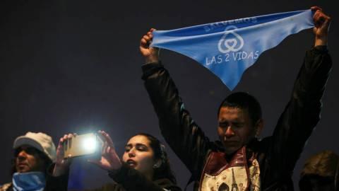Αργεντινή: Καταψηφίστηκε το νομοσχέδιο για την αποποινικοποίηση της άμβλωσης