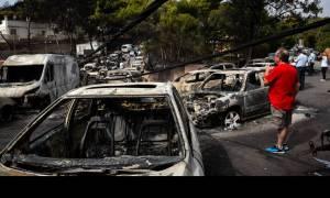 Φωτιά Μάτι: Στην Αθήνα Βρετανοί εμπειρογνώμονες μετά τις φονικές πυρκαγιές