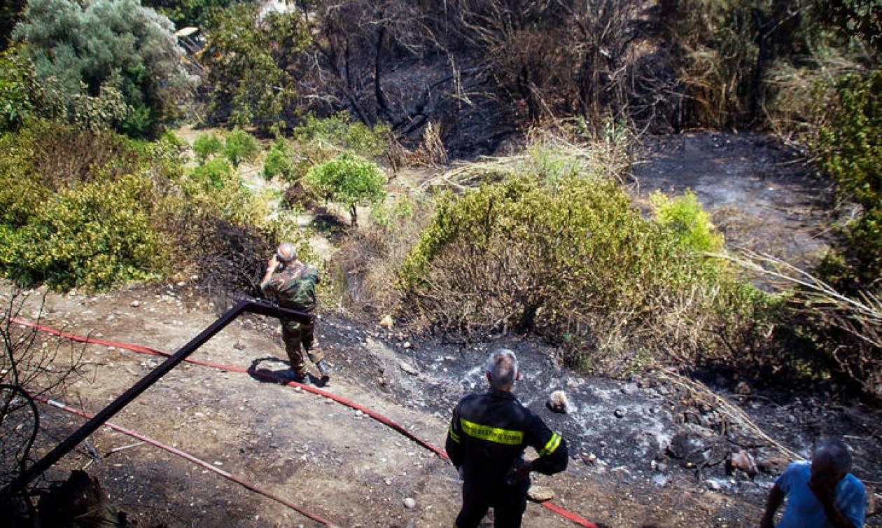 Πολύ υψηλός ο κίνδυνος για πυρκαγιά την Παρασκευή (10/08)
