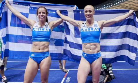 Греческая спортсменка Екатерини Стефаниди завоевала золото на чемпионате Европы по легкой атлетике