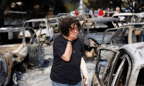 Число погибших в результате пожаров в Греции достигло 93 человек