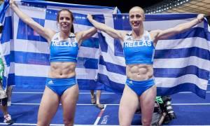 Η Ευρώπη υποκλίθηκε στις Πρωταθλήτριες Κατερίνα Στεφανίδη και Νικόλ Κυριακοπούλου (pics+vds)