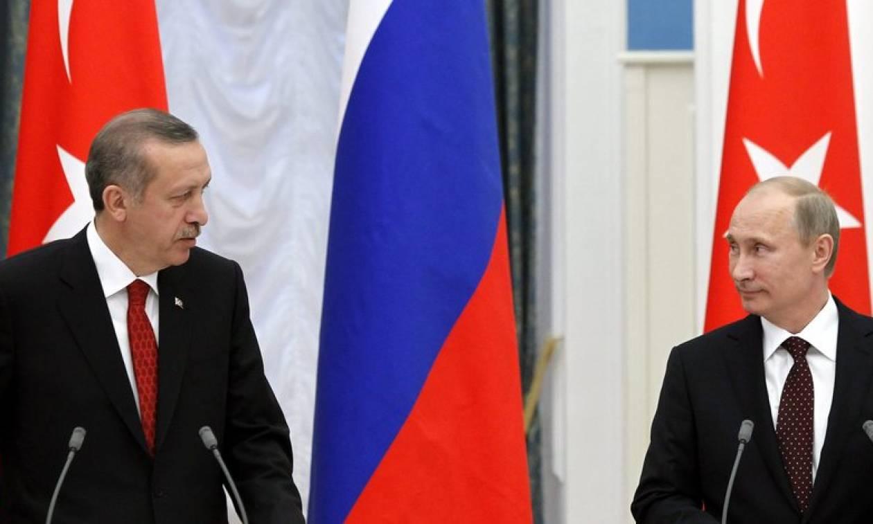 Τηλεφωνική επικοινωνία Ερντογάν - Πούτιν: Τι συζήτησαν οι δύο ηγέτες