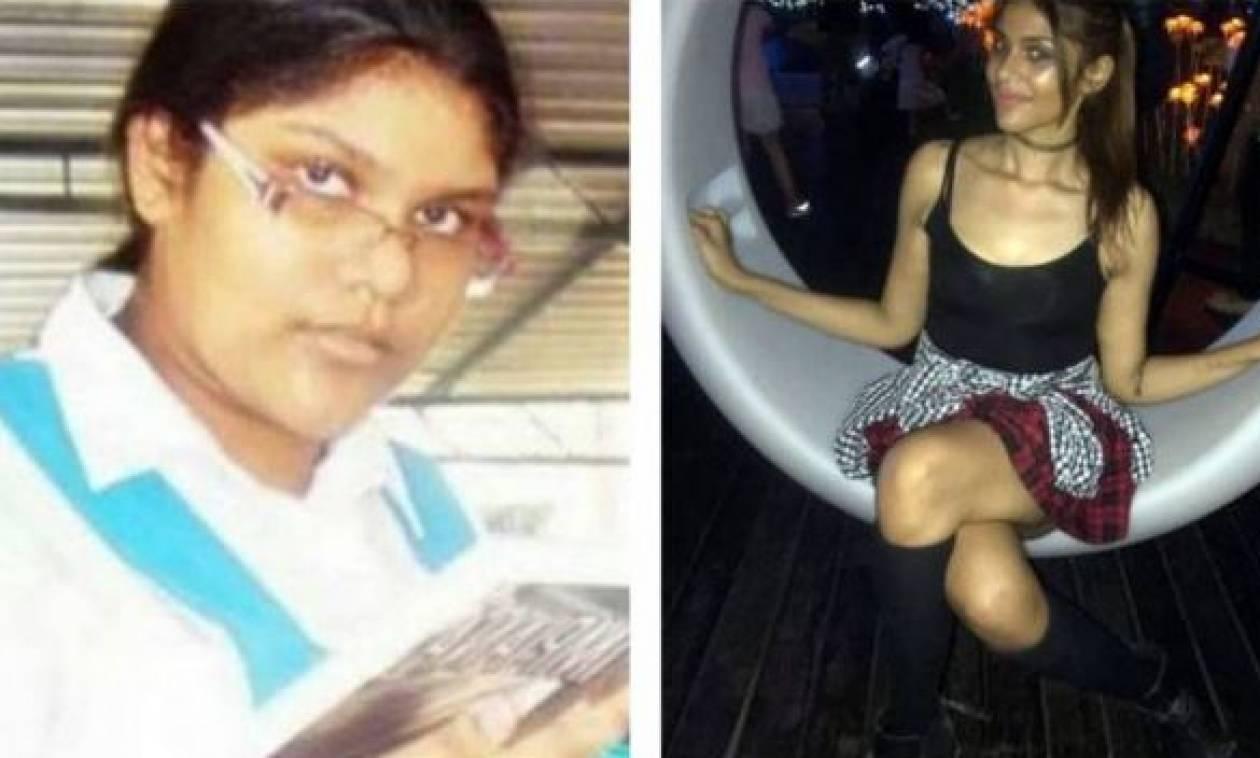 Η συγκλονιστική μεταμόρφωση μια κοπέλας (pics)