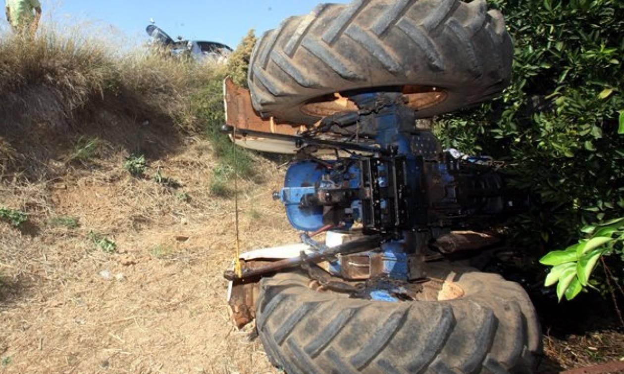 Τραγωδία στις Σέρρες: Νεκρός αγρότης που καταπλακώθηκε από το τρακτέρ του