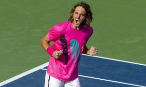 Ένας «μυθικός» Τσιτσιπάς πέρασε στον τελικό του Rogers Cup (pics&vids)