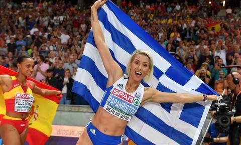 Параскеви Папахристу принесла еще одну золотую медаль в копилку греческой команды