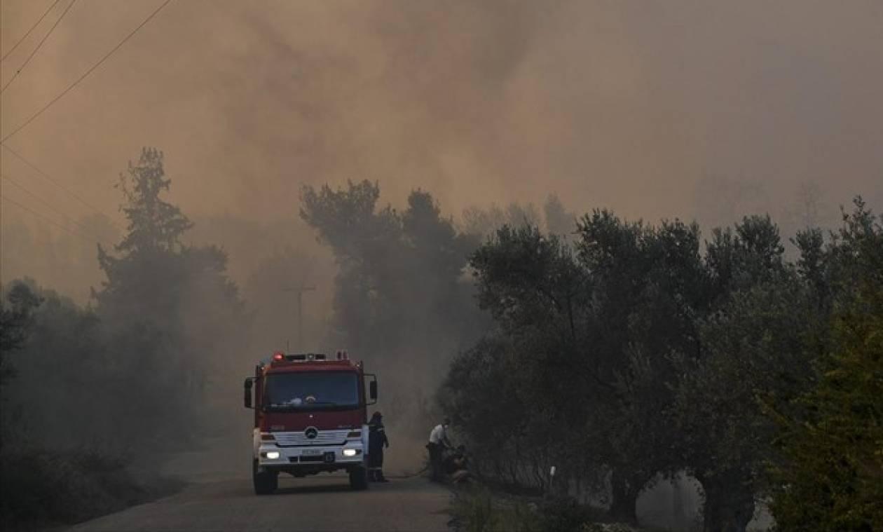 Φωτιά Εύβοια: Ποιοι δρόμοι είναι κλειστοί λόγω της πυρκαγιάς