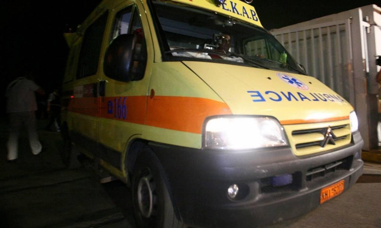 Σοβαρό τροχαίο στο Ηράκλειο: Αυτοκίνητο προσέκρουσε σε φράχτη