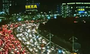 «Λαοθάλασσα» στα εγκαίνια του πρώτου Ikea στην Ινδία – Ουρές χιλιομέτρων