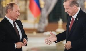 Μετά το νέο «χαστούκι» Τραμπ ο Ερντογάν καταφεύγει στον Πούτιν