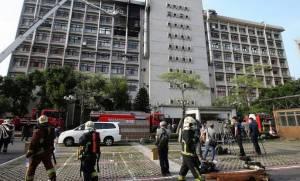 Ταϊβάν: Εννέα νεκροί και 16 τραυματίες από πυρκαγιά σε νοσοκομείο (vid)