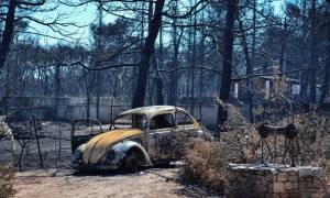 Φωτιά: Έμεινε από καύσιμα το πρώτο ελικόπτερο που έφτασε στο Μάτι