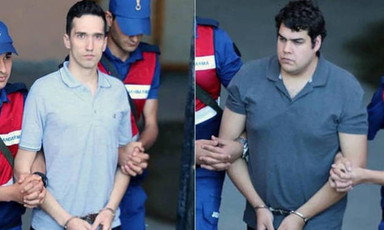 Ελεύθεροι οι δύο Έλληνες στρατιωτικοί που κρατούνταν στην Αδριανούπολη - Επιστρέφουν στην Ελλάδα