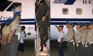 Έλληνες στρατιωτικοί: Δείτε καρέ – καρέ τη συγκινητική άφιξη των Μητρετώδη και Κούκλατζη στην Ελλάδα