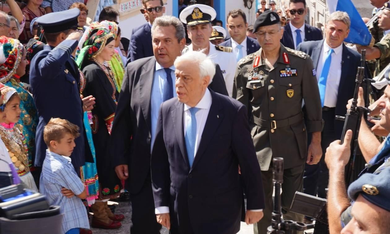 Ηχηρό μήνυμα Παυλόπουλου: Ο ρόλος μου είναι να κρατήσω αρραγή την ενότητα στα εθνικά θέματα