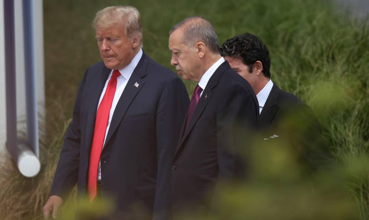 Ο Ερντογάν δεν βάζει μυαλό και προκαλεί την οργή του Τραμπ!