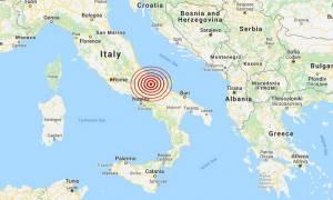 Σεισμός Ιταλία: 5,1 Ρίχτερ το μέγεθος του σεισμού στην περιφέρεια Μολίζε - Έχουν σημειωθεί ζημιές