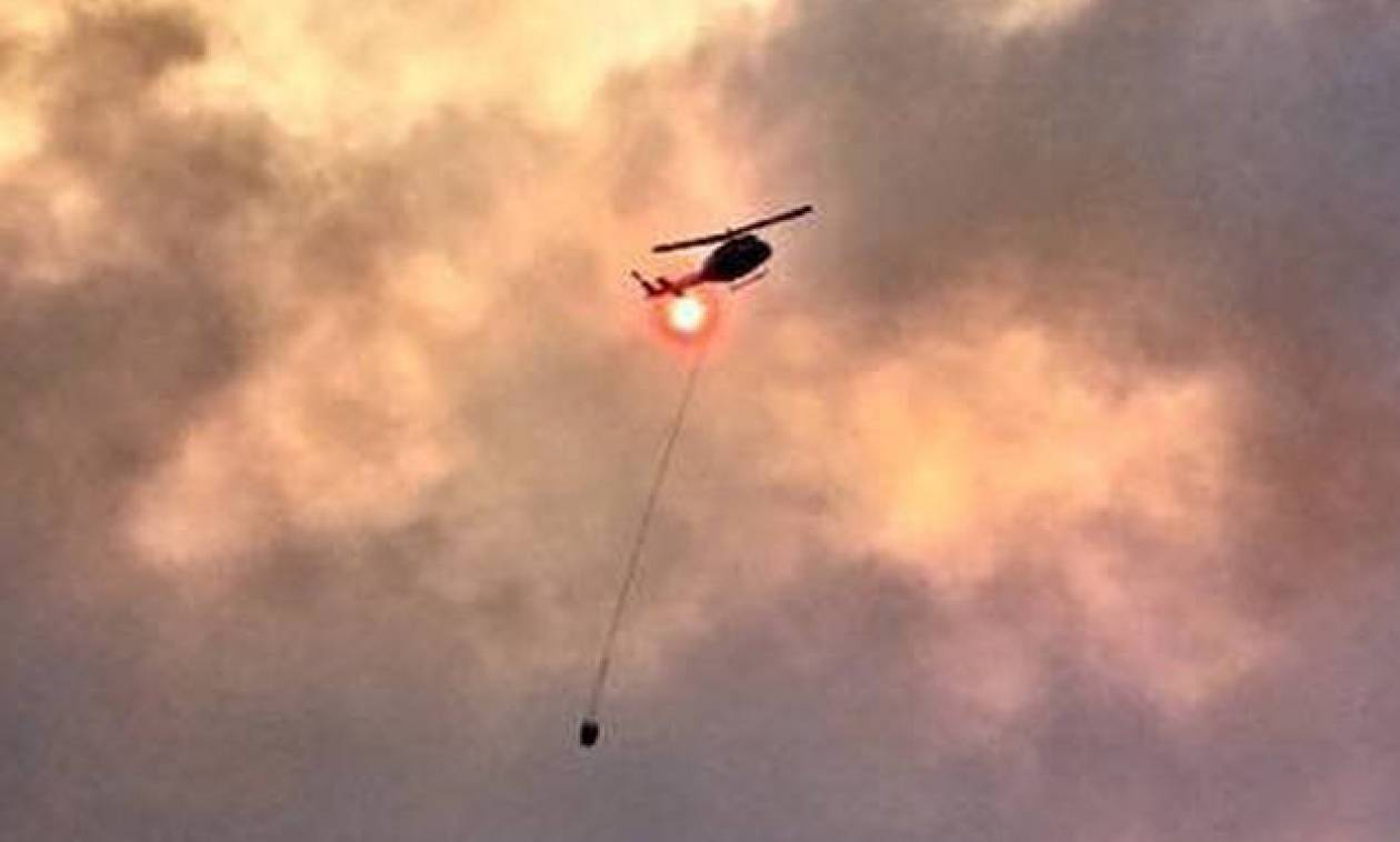 Αυστραλία: Συντριβή ελικοπτέρου κατά την επιχείρηση κατάσβεσης πυρκαγιάς - Νεκρός ο πιλότος