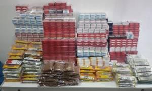 Θεσσαλονίκη: Δύο συλλήψεις για λαθραία καπνικά προϊόντα