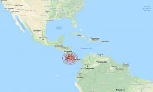 Ισχυρός σεισμός συγκλόνισε την Κόστα Ρίκα