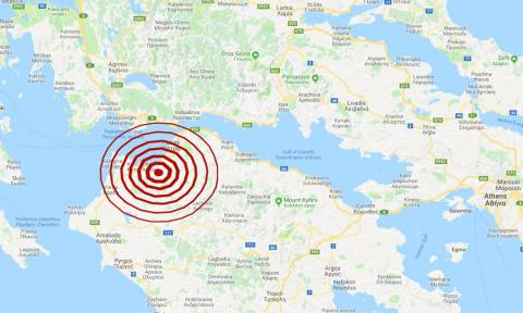 Σεισμός κοντά στην Πάτρα (pics)