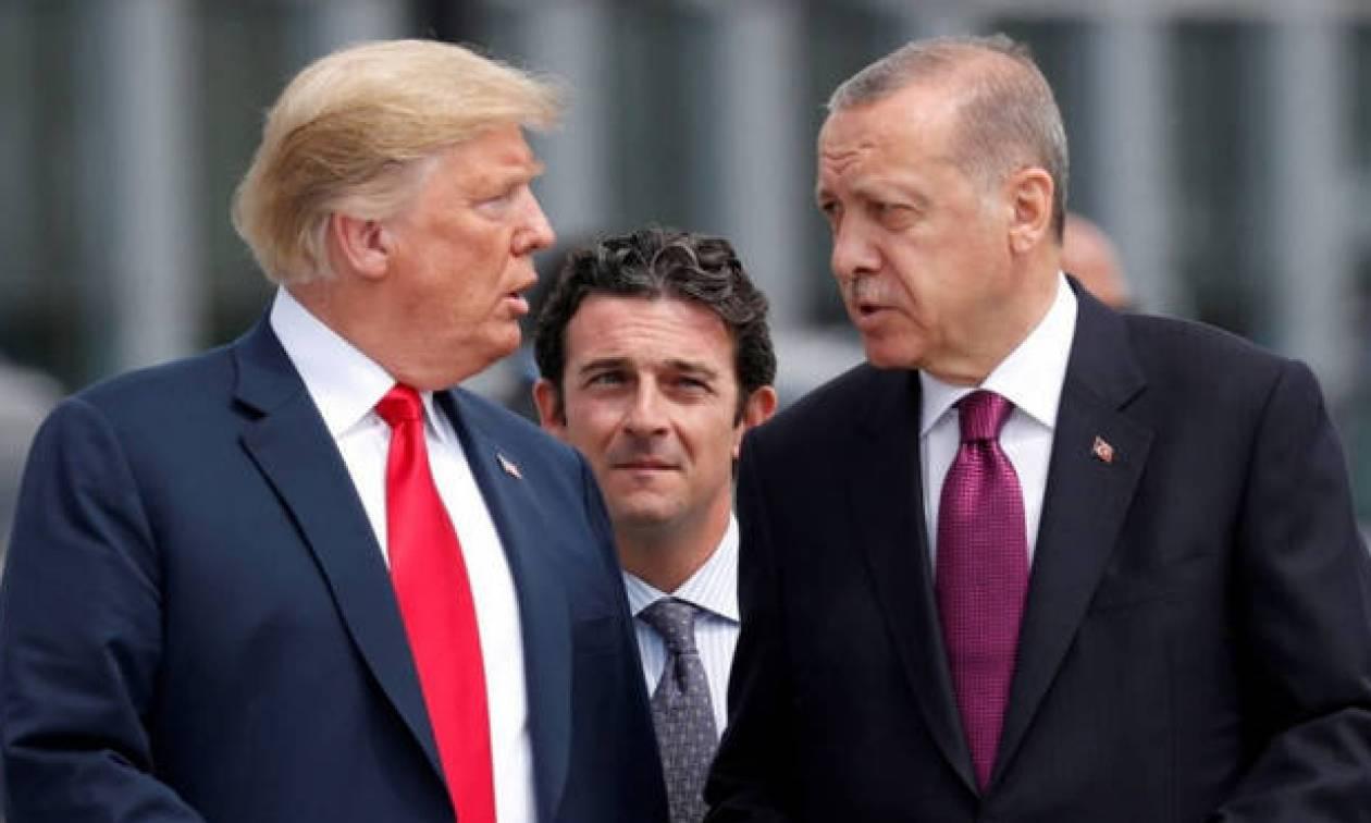 Παίζει με τη «φωτιά» ο Ερντογάν - Απειλεί ξανά τις ΗΠΑ: «Είδαμε τα παιχνίδια σας και σας προκαλούμε»