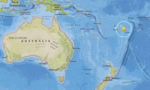 Μεγάλος σεισμός 8,2 Ρίχτερ κοντά στα νησιά Φίτζι στον Ειρηνικό Ωκεανό