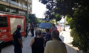 Πάτρα: Φωτιά σε διαμέρισμα – Ένας τραυματίας