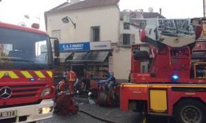 Γαλλία: Τουλάχιστον 19 τραυματίες σε φωτιά που ξέσπασε σε κτήριο στα περίχωρα του Παρισιού