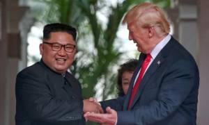 Ο Ντόναλντ Τραμπ προανήγγειλε νέα συνάντηση με τον Κιμ Γιονγκ Ουν