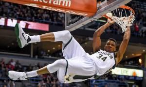 NBA: Στιγμές μαγείας! Οι τρομερές καρφωματάρες του Γιάνναρου! (vid)