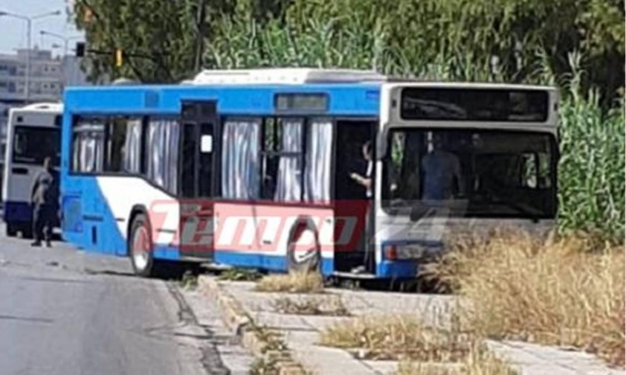 Πάτρα: Τροχαίο με λεωφορείο που βγήκε στο αντίθετο ρεύμα