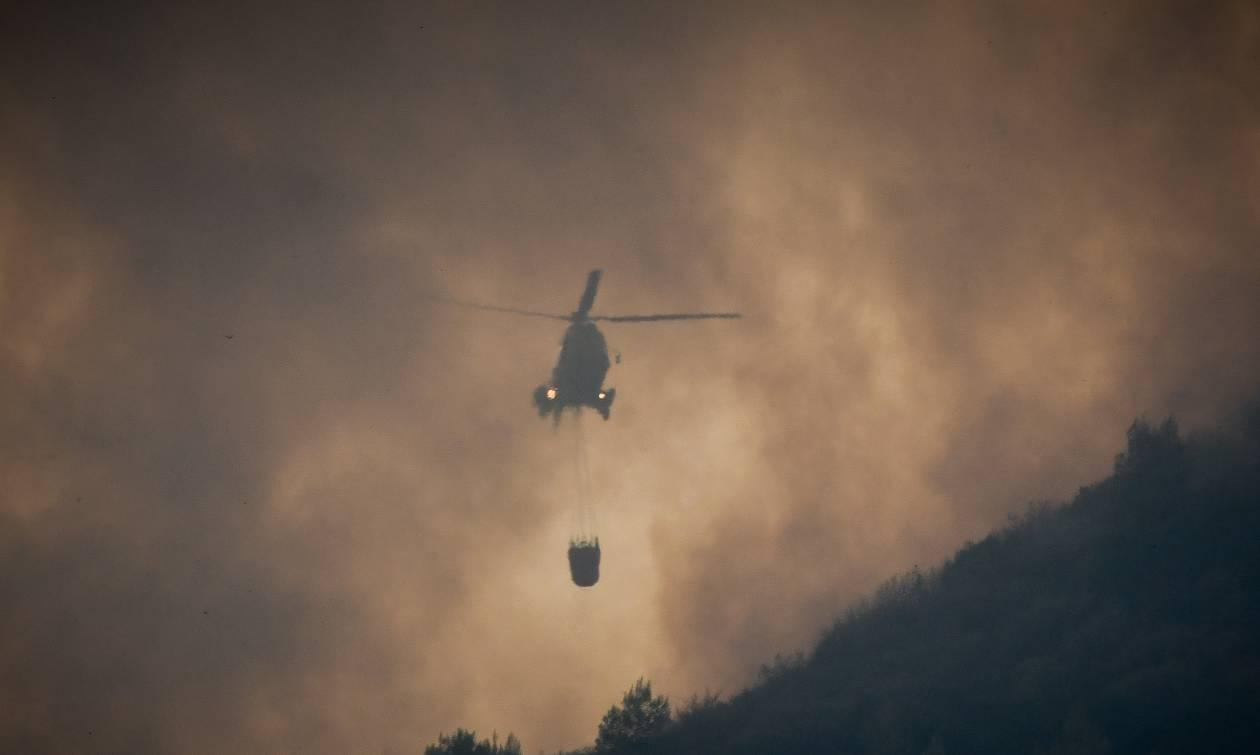 Φωτιά Πάτρα: Υπό πλήρη έλεγχο η πυρκαγιά στο Άνω Καστρίτσι