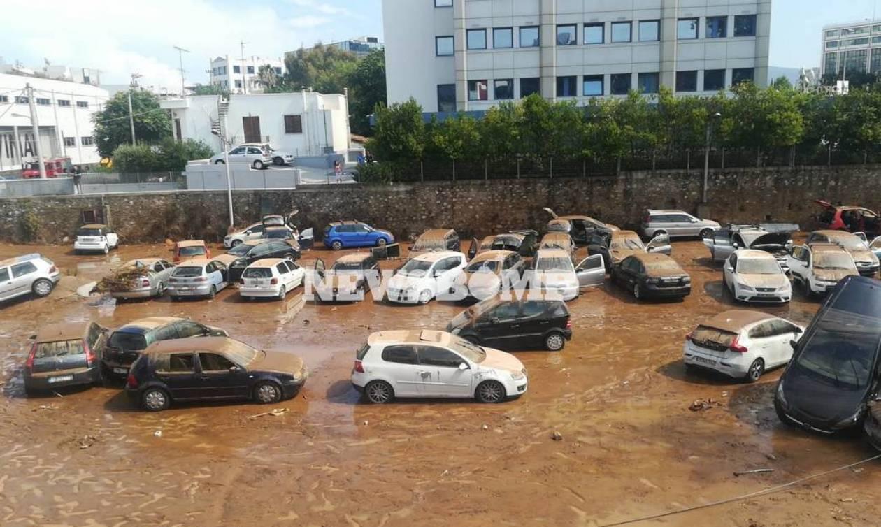 Απάντηση του Δήμου Αμαρουσίου για την υπερχείλιση του ρέματος Σαπφούς