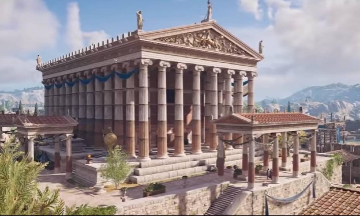 Βίντεο που ανατριχιάζει: Η Αρχαία Αθήνα με εξωπραγματική λεπτομέρεια!