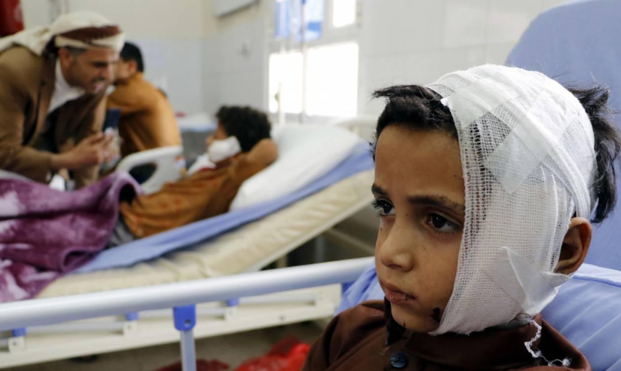 Νέα «σφαγή» δεκάδων παιδιών στην Υεμένη: Μαχητικό έπληξε με ρουκέτα λεωφορείο με αμάχους