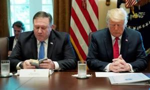 Στον «πάγο» ξανά οι σχέσεις ΗΠΑ - Β. Κορέας: Ο Τραμπ ακύρωσε το ταξίδι του Πομπέο στην Πιονγκγιάνγκ