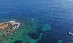 Συγκλονιστικό βίντεο από drone λίγα χιλιόμετρα έξω από την Αθήνα
