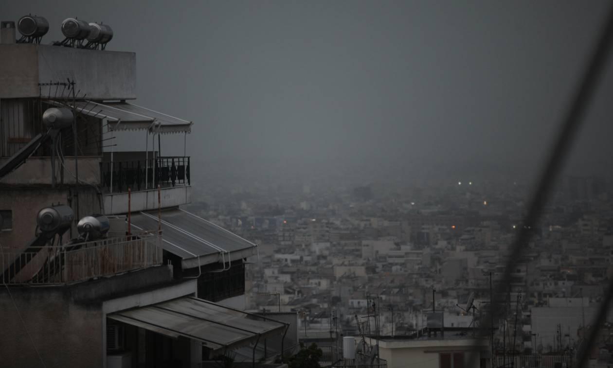 Αλλάζει απότομα ο καιρός: Καταρρακτώδεις βροχές και καιταιγίδες την Κυριακή
