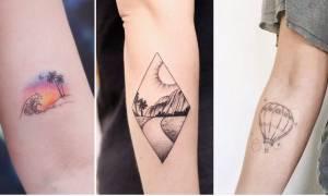 Τύποι γυρίζουν τον κόσμο για να κάνουν... τατουάζ!