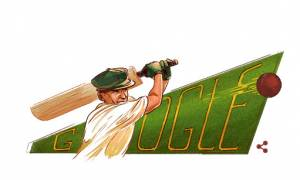 Sir Donald George Bradman: 110η επέτειος από τη γέννηση του θρύλου του κρίκετ από την Google
