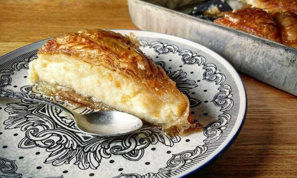 Συνταγή για πεντανόστιμο γαλακτομπούρεκο!