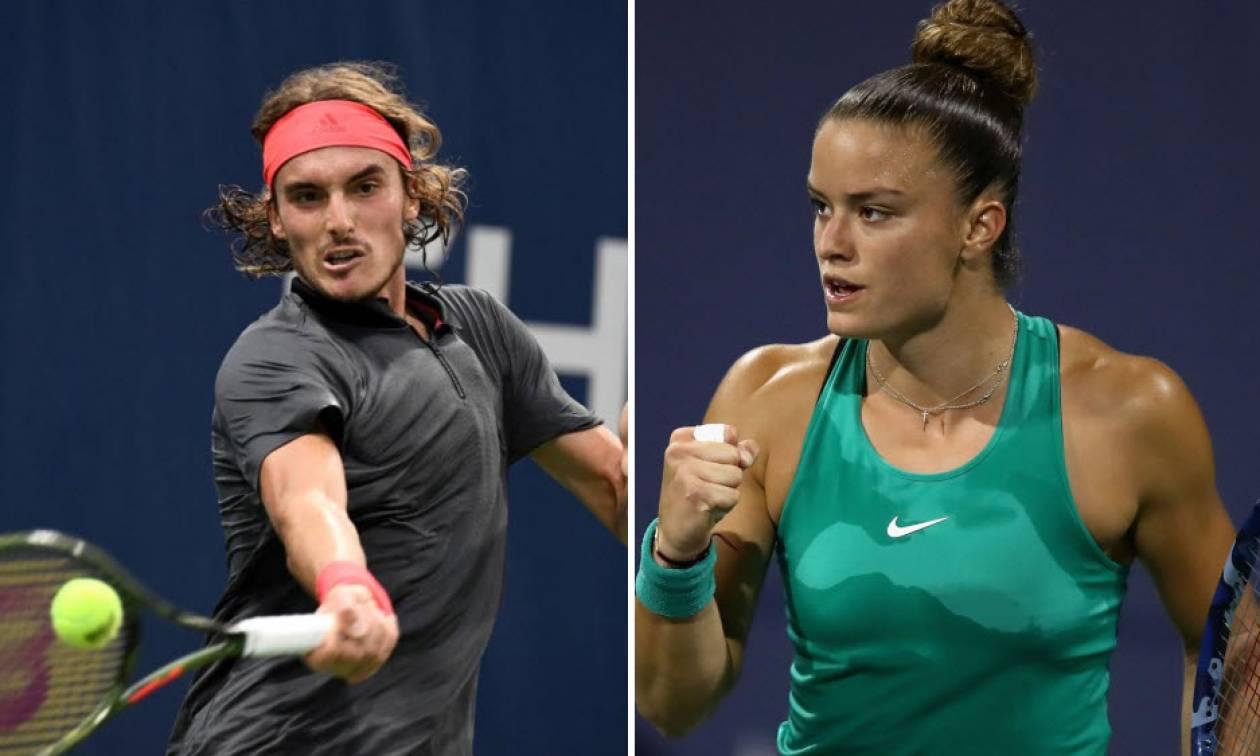 Τένις: Σάκκαρη και Τσιτσιπάς πέρασαν στο δεύτερο γύρο του US Open