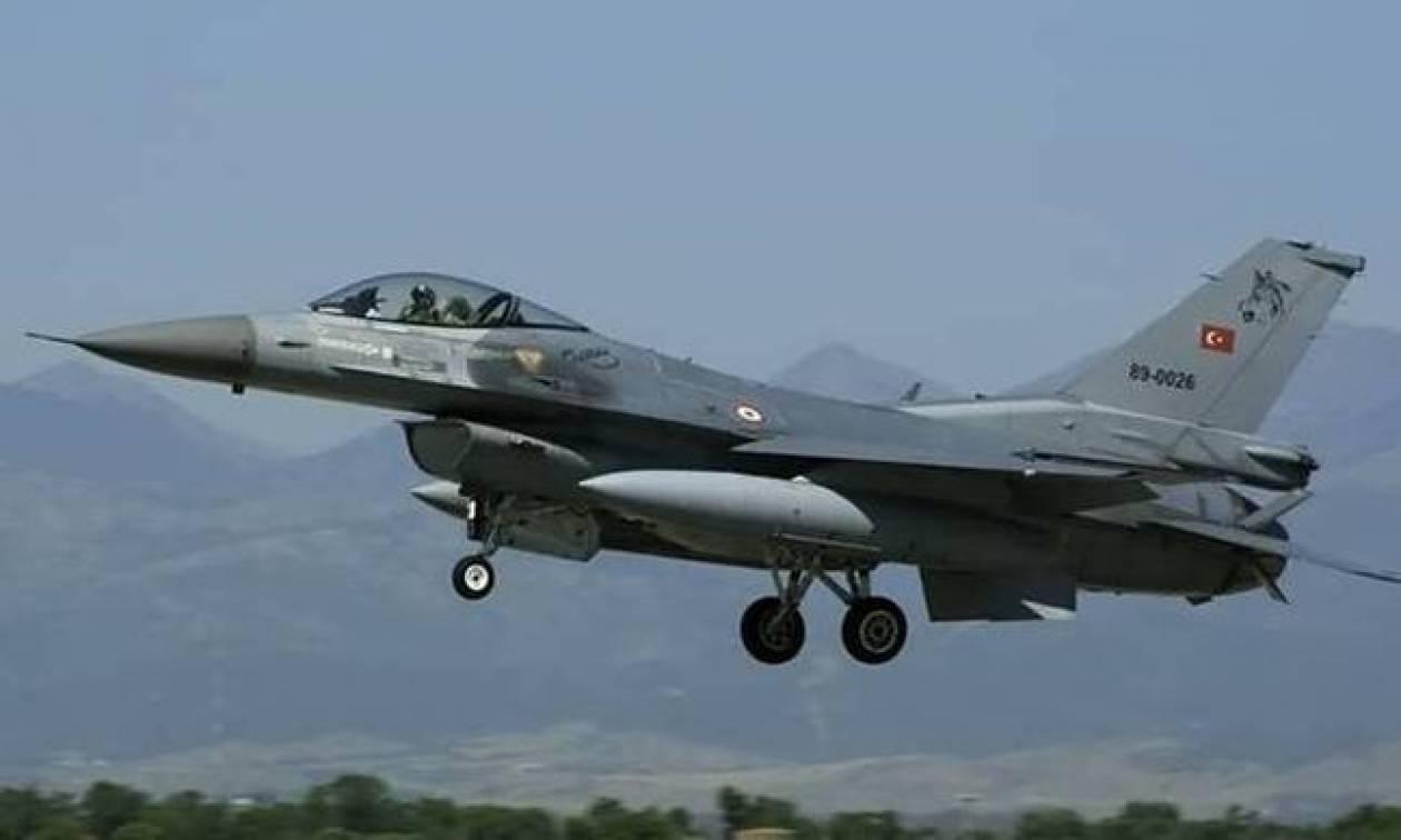 Μπαράζ τουρκικών παραβιάσεων από κατασκοπευτικά και οπλισμένα F - 16 πάνω από το Αιγαίο