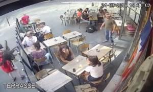 Γαλλία: Σύλληψη υπόπτου για τον ξυλοδαρμό της γυναίκας που αντέδρασε στο καμάκι του (vid)