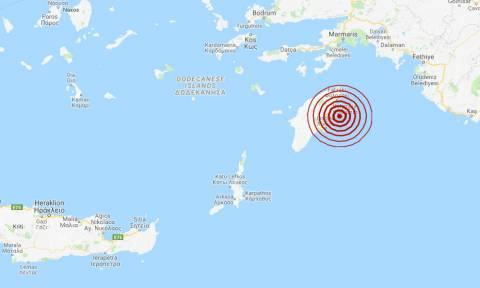 Σεισμός ΤΩΡΑ στη Ρόδο (pics)