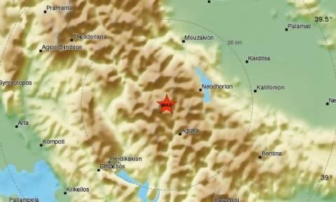 Σεισμός 5 Ρίχτερ στην Καρδίτσα - Αισθητός σχεδόν σε όλη την Ελλάδα
